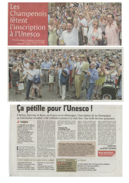 Reportage Union 6 Juillet 2015